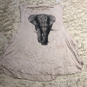 Tops - Elephant muscle tank